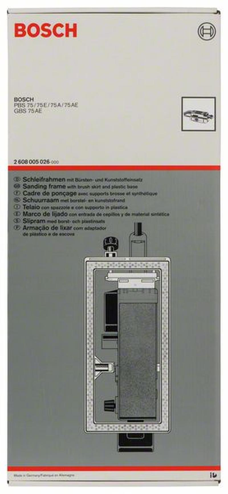 Accessoires pour ponceuses Bandes Bosch 2608005026 Cadre de ...