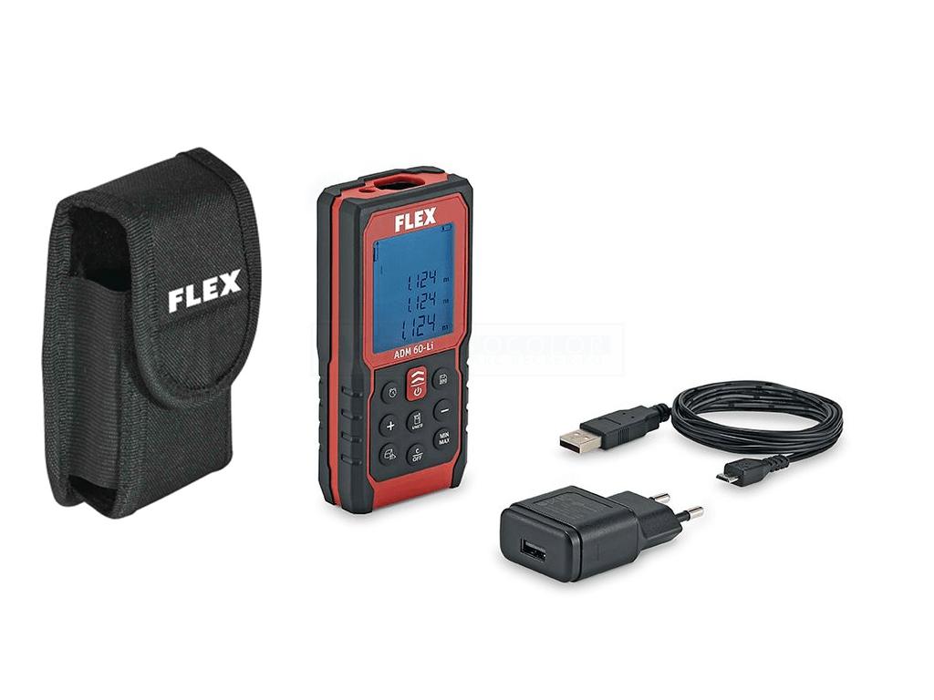 Flex laser entfernungsmesser adm 60 li 447862 ach shop