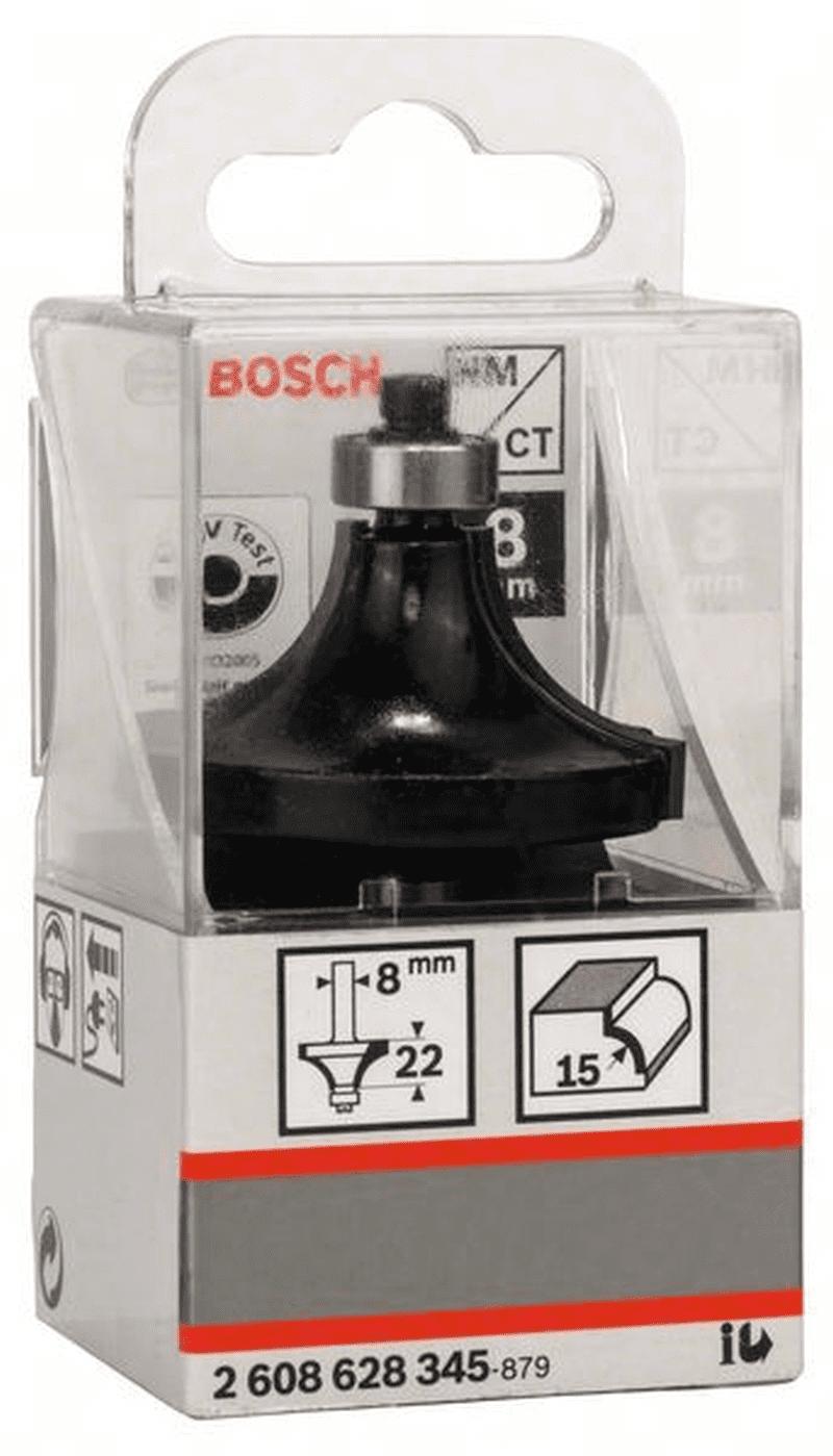 L 22 mm G 66 MM r1 15 mm Bosch abrundfräser 8 MM