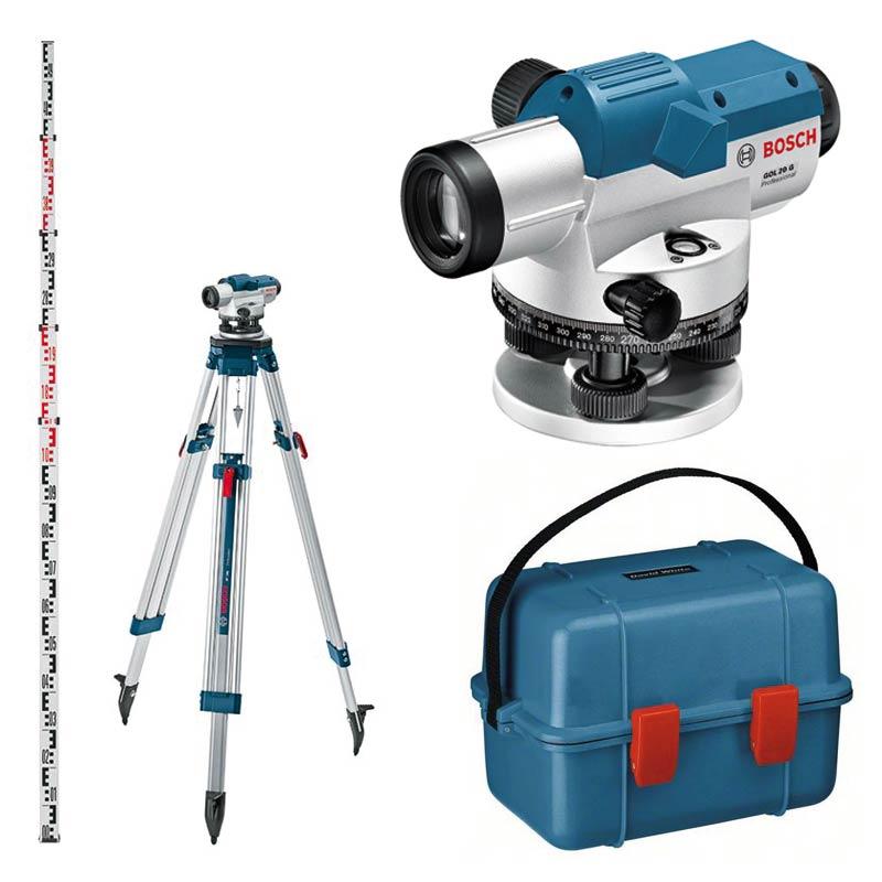Bosch Optisches Nivelliergerät GOL 26 G im Koffer 0601068001