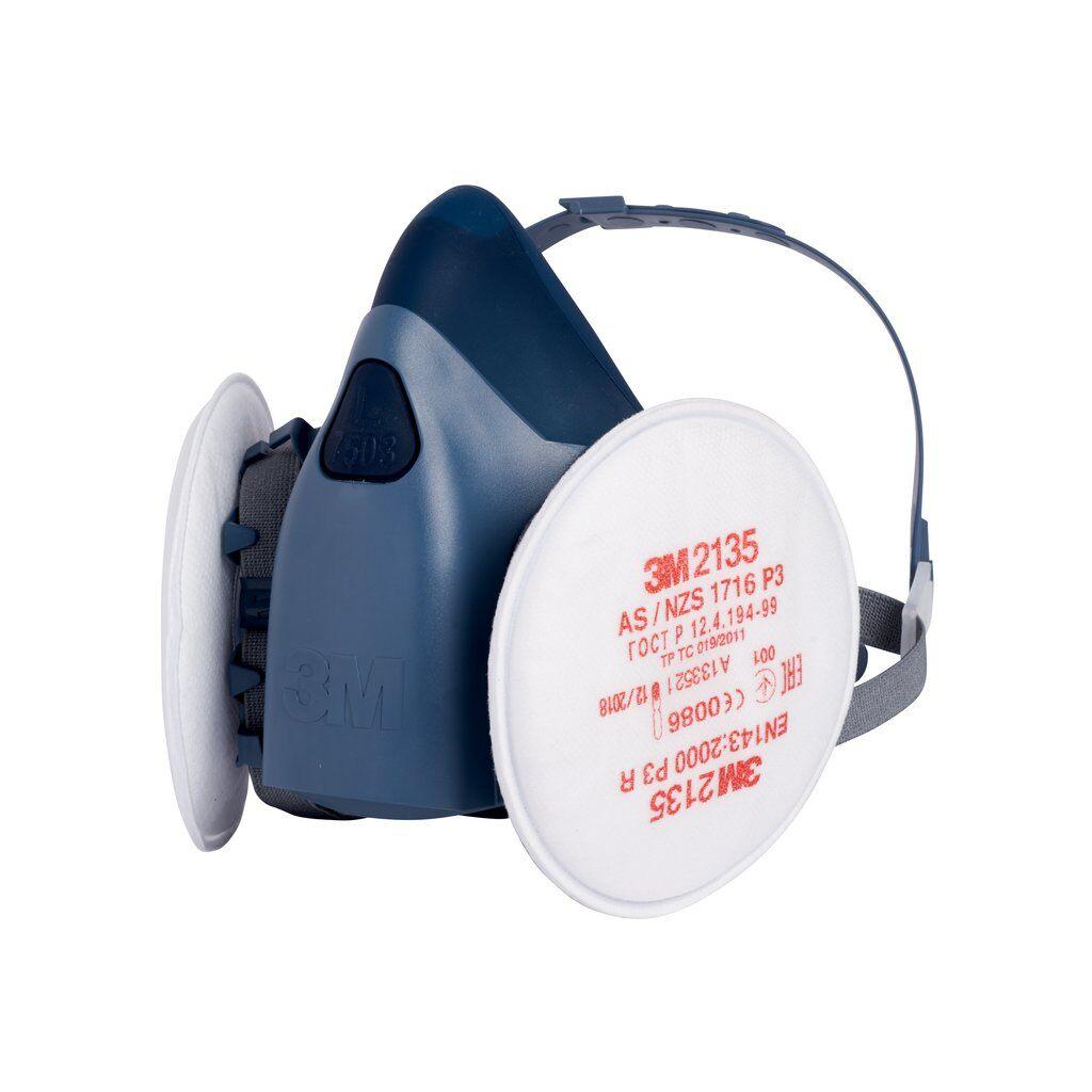 FFP3 3M™ Halbmaske Größen M,L mit 2x Wechselfilter | ACH-Shop
