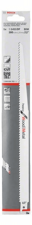 Bosch Säbelsägeblatt S 2345 X Pack a 5 Stück Bosch Säbelsägeblätter Sägeblatt Sä