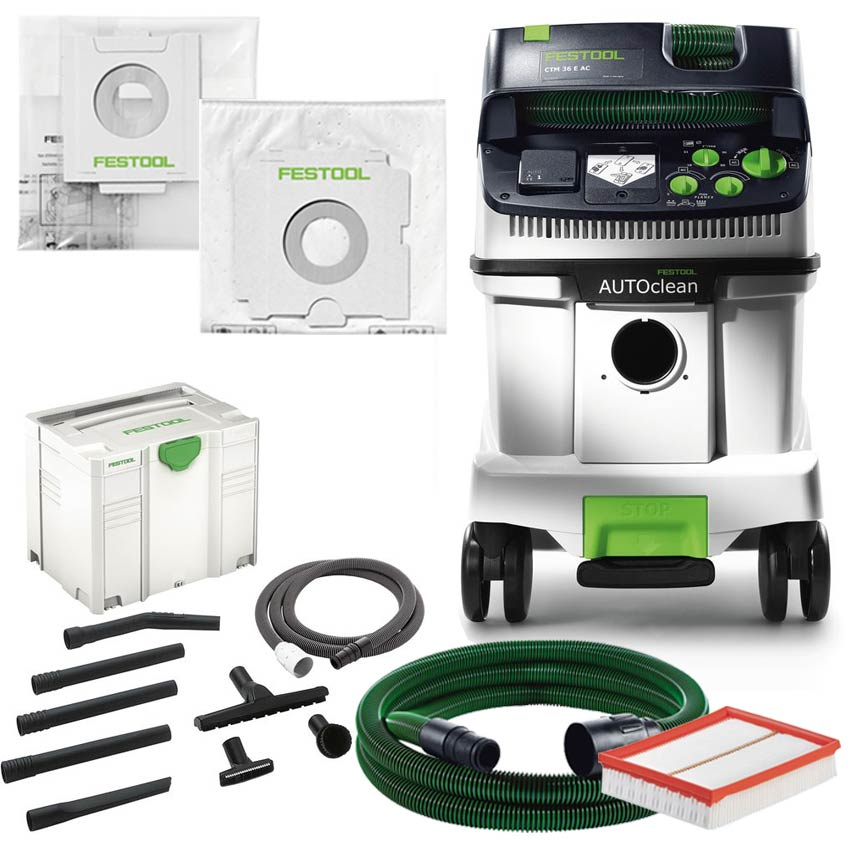 festool absaugmobil ctm 36 e ac autoclean universal reinigungsset absaugmobile ctm saugen. Black Bedroom Furniture Sets. Home Design Ideas