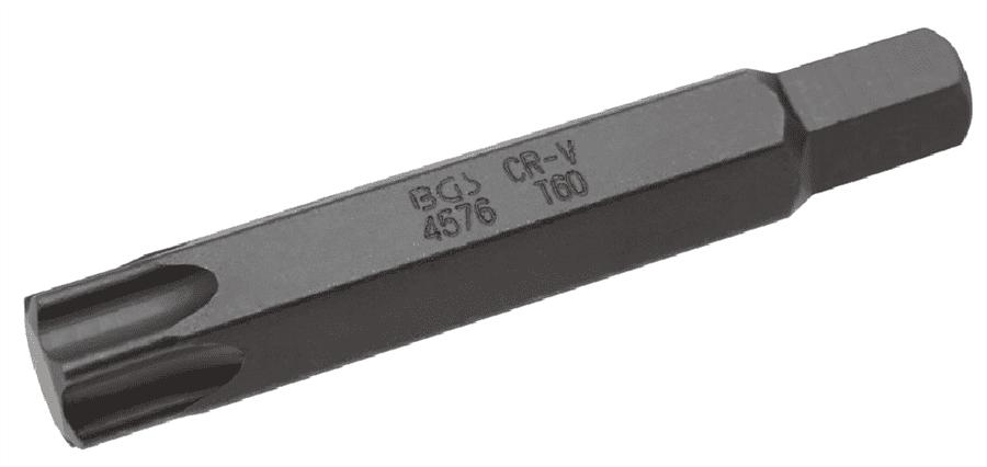 Bit T-Profil 6-Kant T60 14 mm 80 mm
