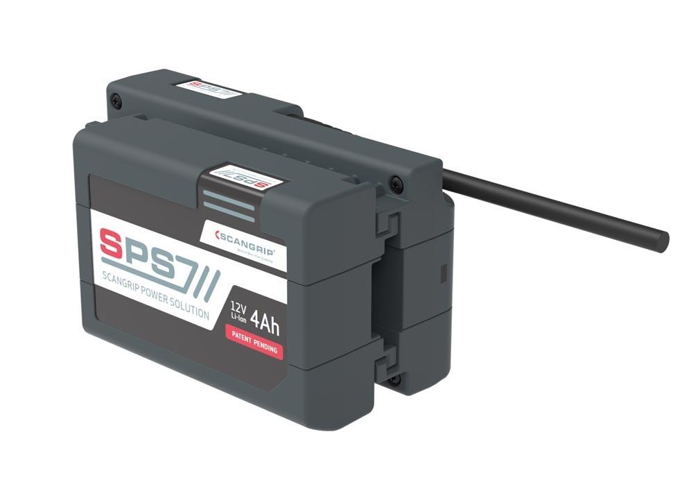 SCANGRIP 03.6003 Batterie de rechange 4ah pour Nova 4 SPS Multi Match 3 Travail Lampe