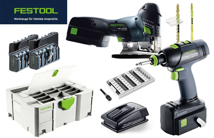 festool 18v 5 2 ah akku set montageset t 18 3 stichs ge psc 420 plus airstrea ebay. Black Bedroom Furniture Sets. Home Design Ideas