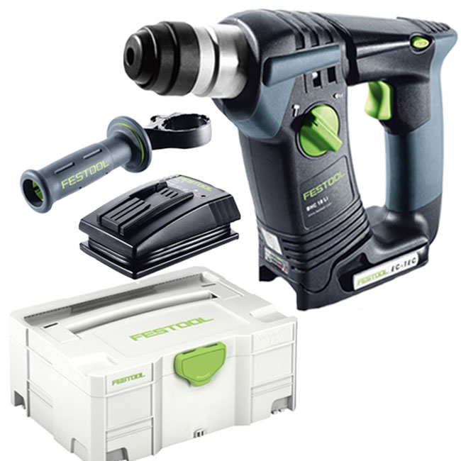 festool sds plus akku bohrhammer bhc 18 li basic ohne akku ohne ladeger t ebay. Black Bedroom Furniture Sets. Home Design Ideas