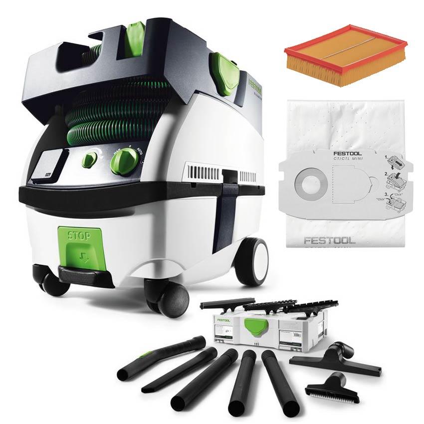 festool absaugmobil ctl mini 584150 kompaktreinigungsset sys 497697 ebay. Black Bedroom Furniture Sets. Home Design Ideas