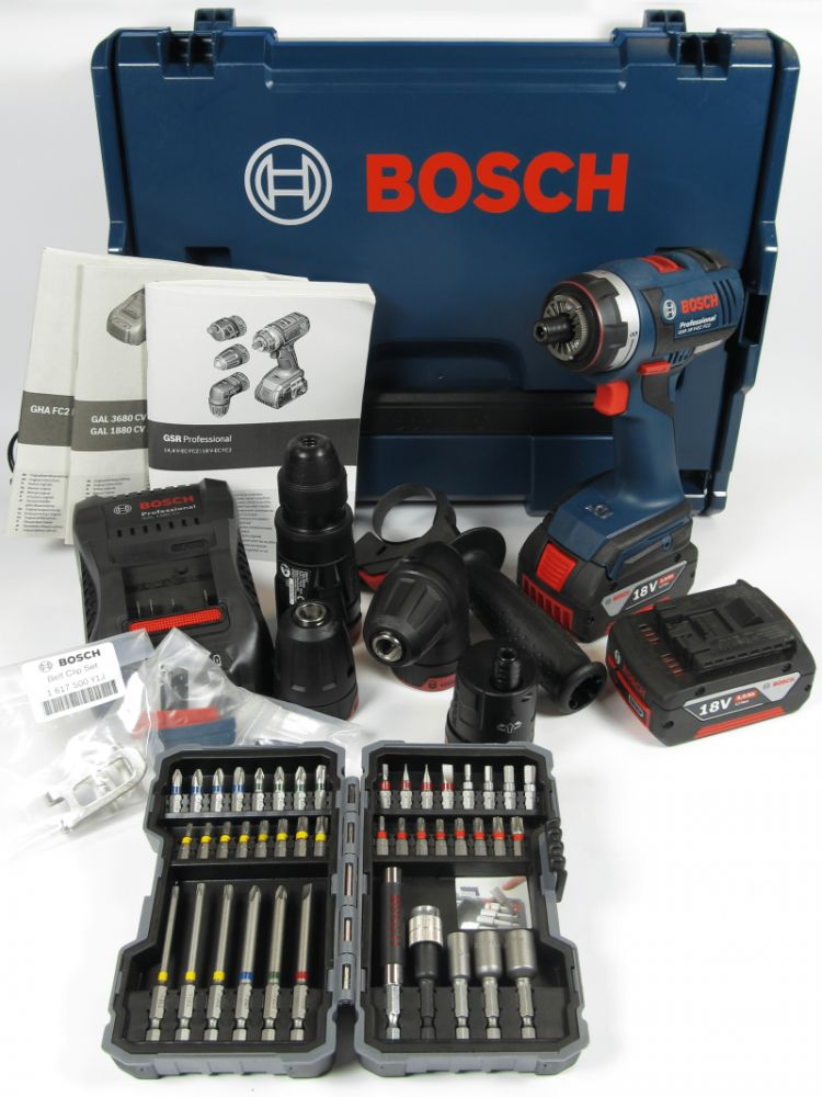 bosch gsr 18 v ec fc2 set 2 x 5 0 ah l boxx akku bohrschrauber 43tlg bitbox ebay. Black Bedroom Furniture Sets. Home Design Ideas